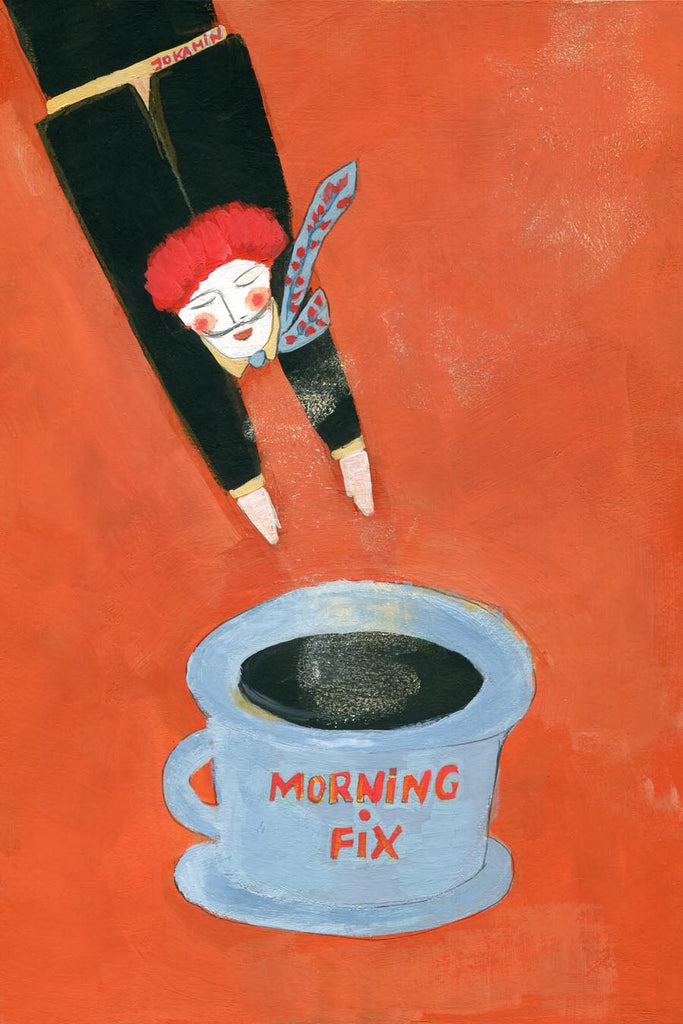 Morning Fix Fine art giclee prints - Jokamin
