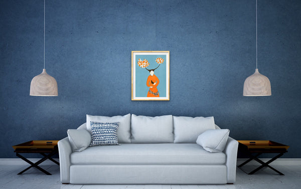 """Morning Song"" Fine art giclee prints - Jokamin"