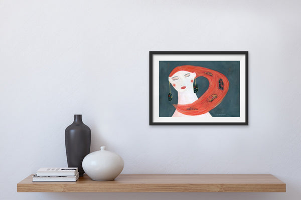 Traffic In My Head Fine art giclee prints - Jokamin