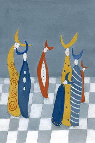 Chess Fine art giclee prints - Jokamin