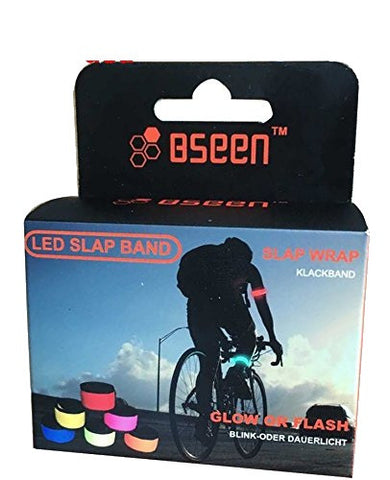 BSeen LED Strap - Running/Cycling/Hiking Safety-Visibility Bracelet