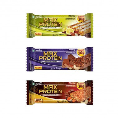Rite Bite - Max Protein Bar - Assorted - Pack of 6