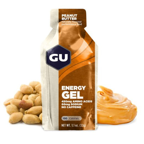GU Energy Gel - Peanut Butter - 24 Count