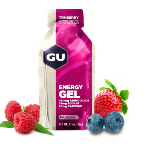 GU Energy Gel - Tri Berry - 24 Count