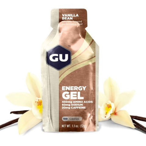 GU Energy Gel - Vanilla Bean - 24 Count