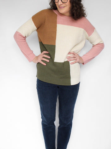 The Harper Color-Blocked Sweater
