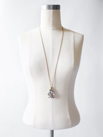 The Crystal Cluster Pendant Necklace