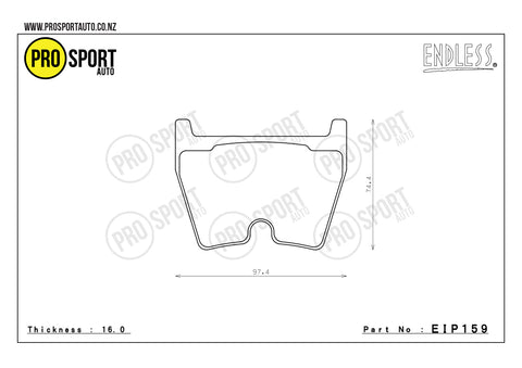 ENDLESS EIP159 Brake Pads