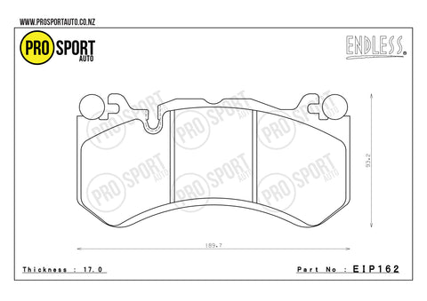 ENDLESS EIP162 Brake Pads