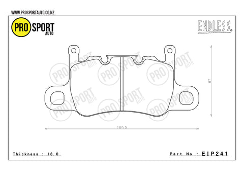 ENDLESS EIP241 Brake Pads
