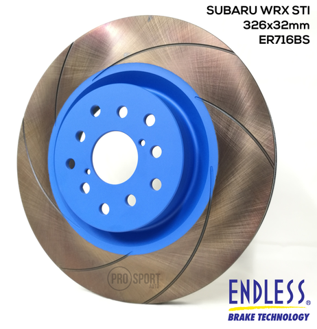 ENDLESS Brake Disc Rotor ER716BS