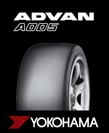 Yokohama A005 Racing Tyre - N2856 - 300/680R18 Slick, Medium (A60)