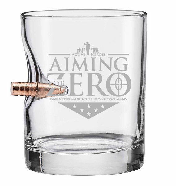 Aiming For Zero - 11oz Rock Glass