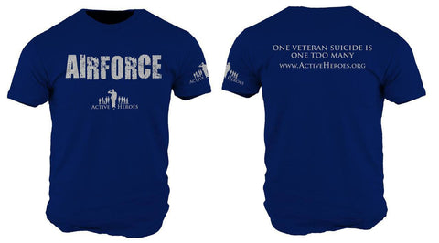 Active Heroes Branch Tee - Air Force