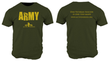 Active Heroes Branch Tee - Army