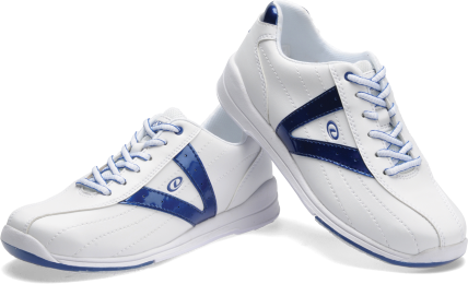 Dexter Vicky, White/Blue, Ladies Bowling Shoes