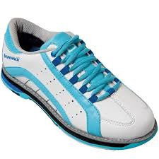 Brunswick Raven, White/Blue/Royal, Ladies Bowling Shoes