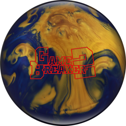 Ebonite Game Breaker II, Royal/Gold/Blue