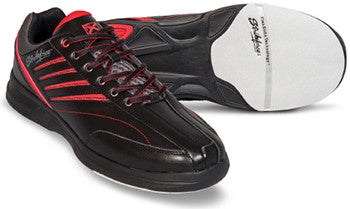 KR Strikeforce Crossfire Lite, Men's Bowling Shoes, Black/Red, AU
