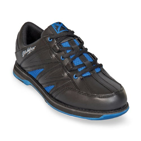 KR Strikeforce Warrior, Men's Bowling Shoes, Black/Royal Blue, AU