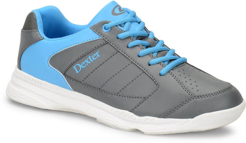 Dexter Ricky IV Jr, Grey/Blue Youth Shoes