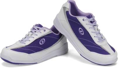 Dexter Lynda, Purple/White, Ladies Bowling Shoes