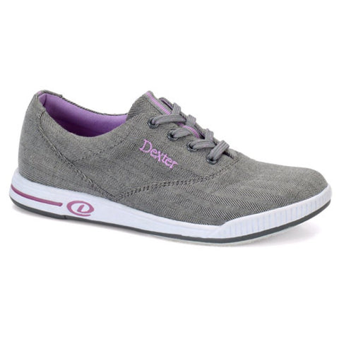 Dexter Kerrie, Grey Twill Ladies Shoes