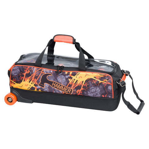 Hammer 3 Ball Tote, Slim Fire