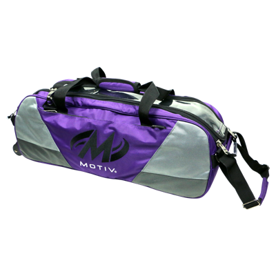 Motiv Ballistix 3 Ball Tote, Purple