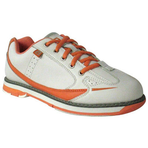 Brunswick Curve, White/Coral, Ladies Bowling Shoes