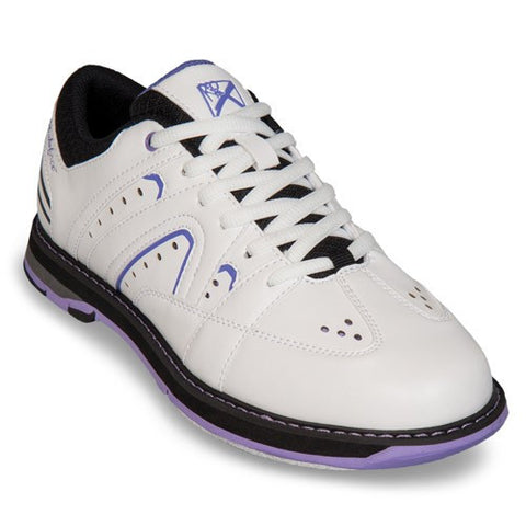 KR Strikeforce Quest, Woman's Bowling Shoes, White/Purple