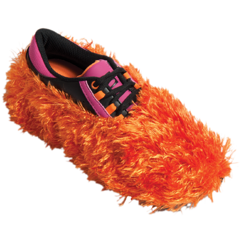 Fuzzy Shoe Cover, Orange