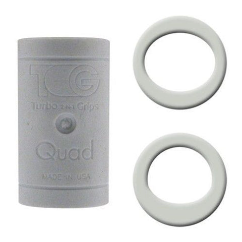 Turbo Quad Finger Inserts, White