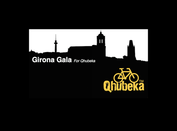 Girona Gala for Qhubeka Ticket