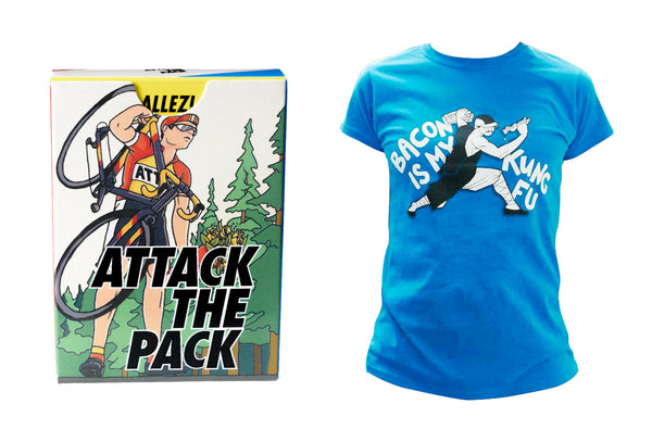 Attack The Pack and T shirt Promo Pack!