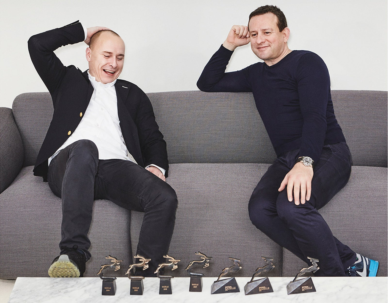Founders of Normann Copenhagen Jan Andersen and Poul Madsen