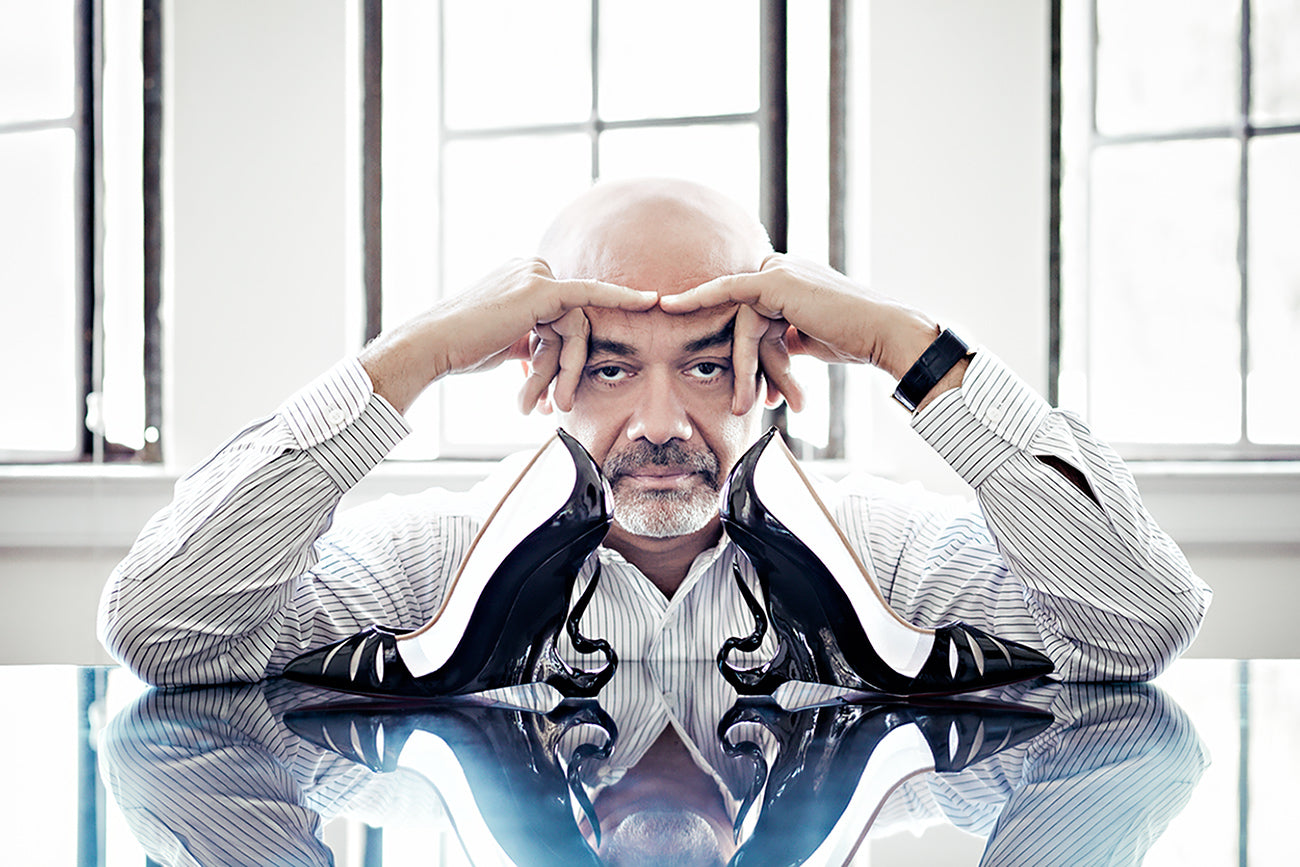 Christian Louboutin with The Malangeli.