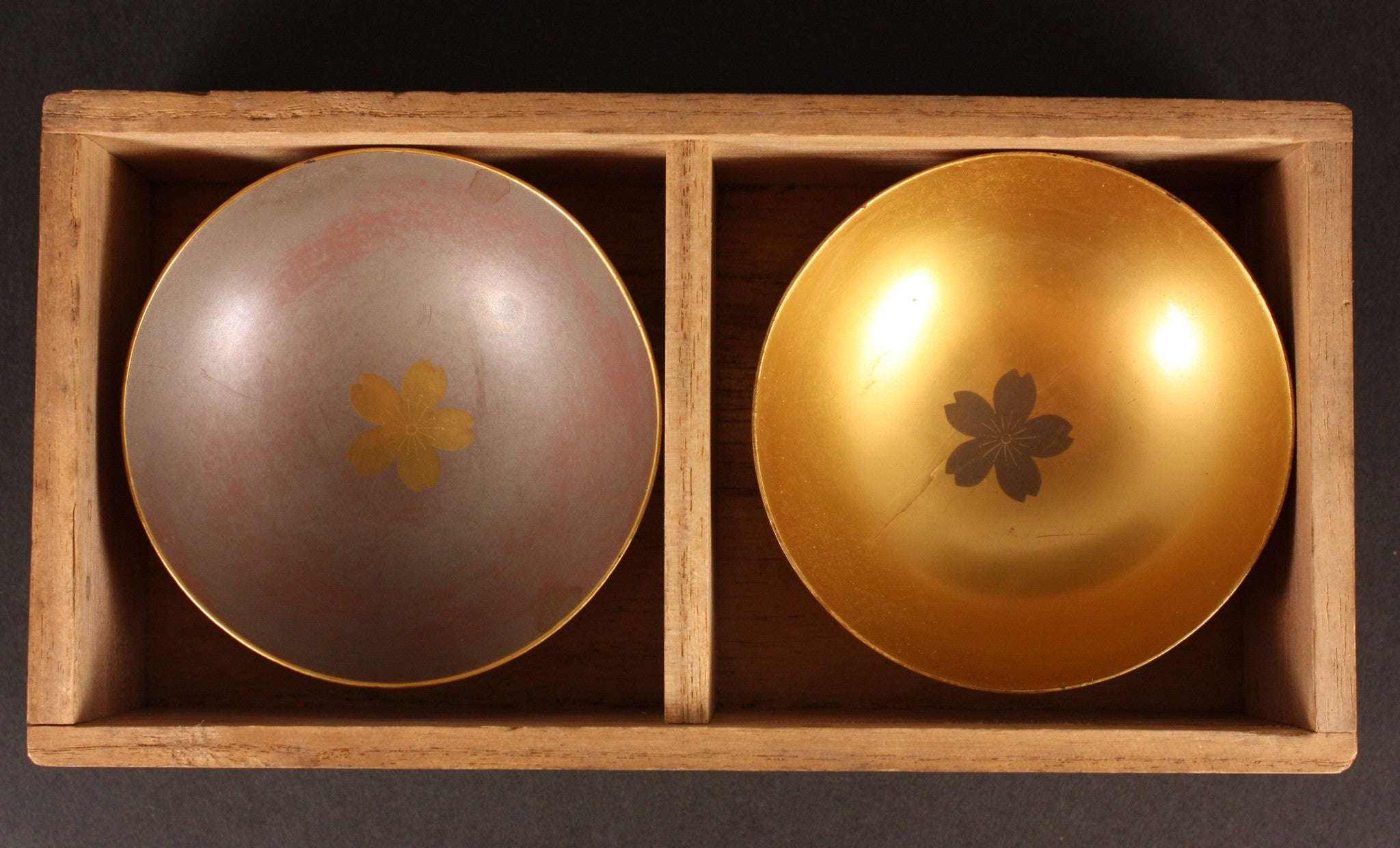 Antique Japanese WW1 1914 Dispatch Return Commemoration Sake Cups