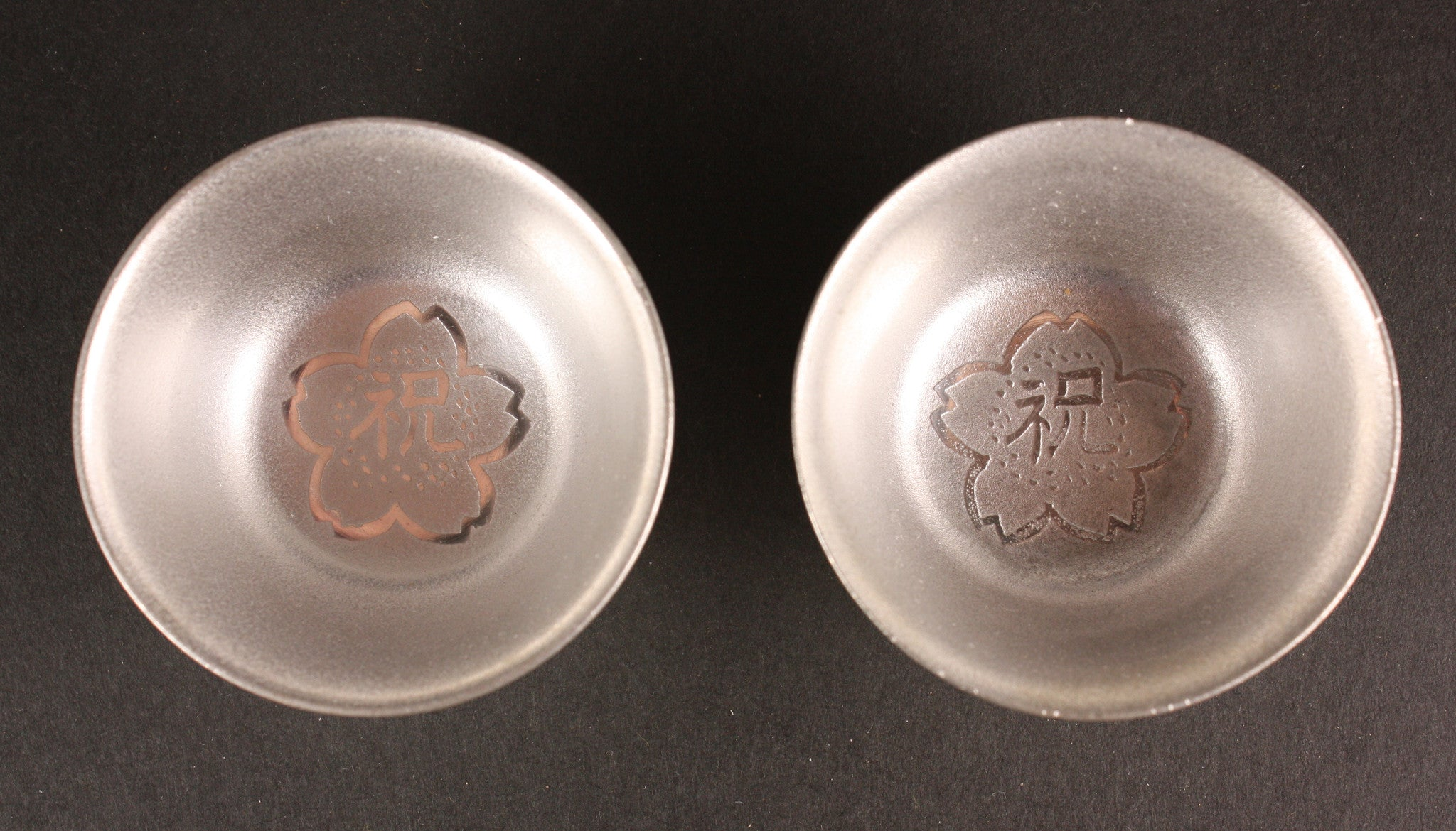 Pair of Antique Japanese Pewter 1919 Term Fulfillment Army Navy Sake Cup