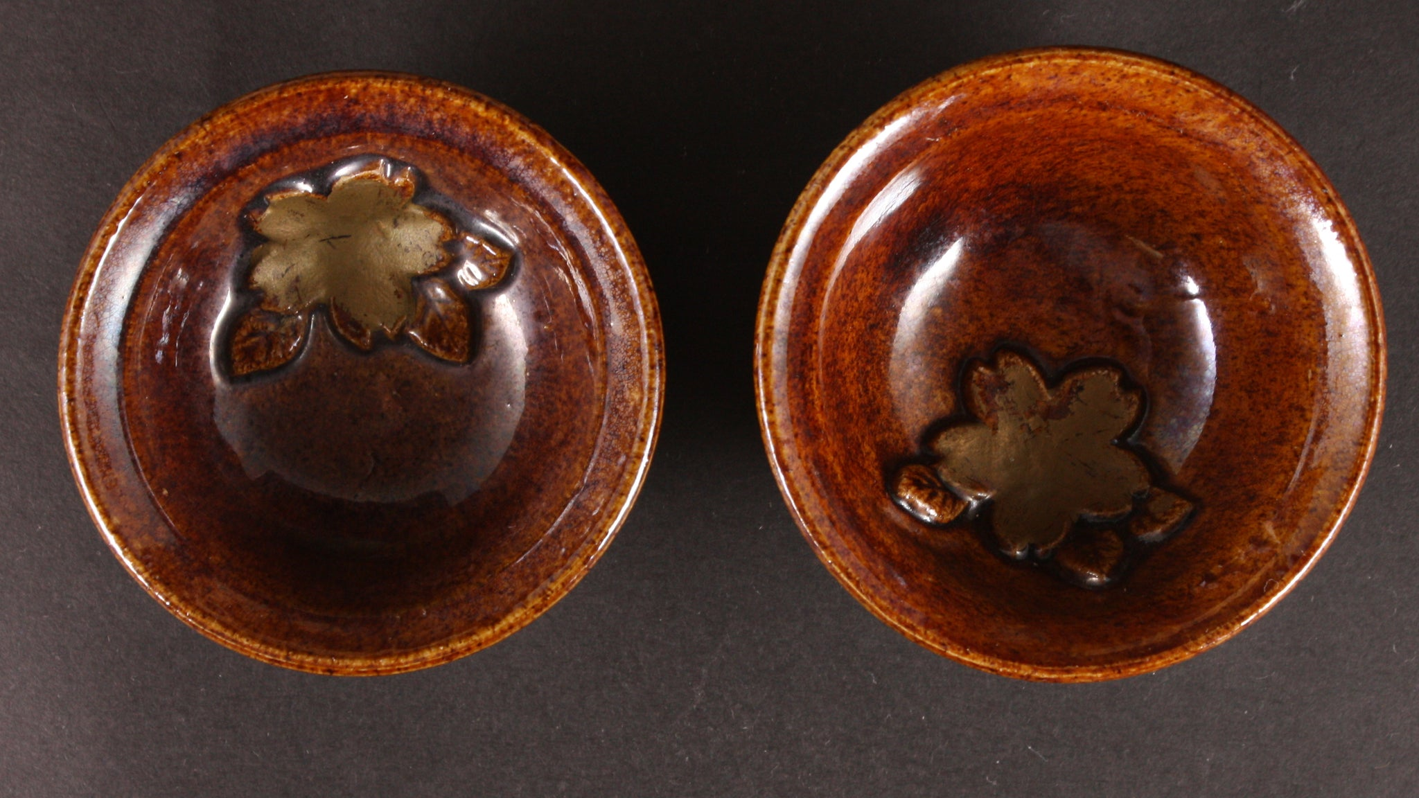 Rare Pair of Antique Japanese Military 1931 Shanghai Incident Commemoration Sake Cups
