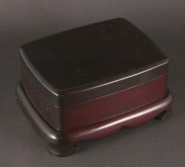 Very Rare Antique Japanese Military 2nd Gunboat Squadron Navy Tobacco Box