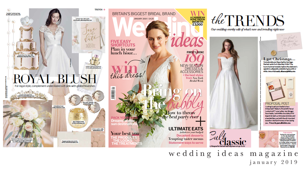 wedding ideas magazine january 2019