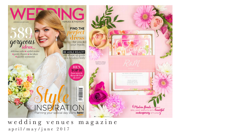 wedding venues magazine 2017
