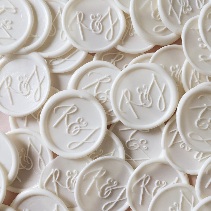 Monogram Wax Seals + Stamp