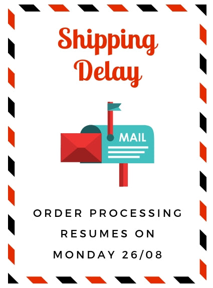 SMALL SHIPPING DELAY