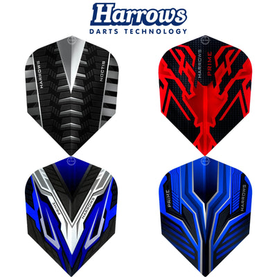 Dart Flights - Harrows - Prime 2020 Range - Standard Dart Flights