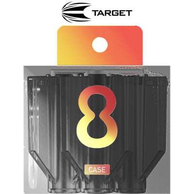 Dart Cases - Target - 8 Flight Cases Black