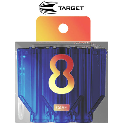 Dart Cases - Target - 8 Flight Cases Blue