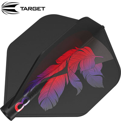 Dart Flights - Target - 8 Flight Stacey Pace - Big Wing Dart Flights