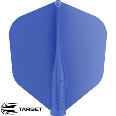 Dart Flights - Target - 8 Flight - Standard Dart Flights Blue